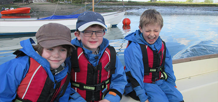 Oakwood pupils ready to sail