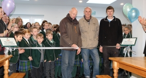 Grand opening of the new Oakwood dining room extension